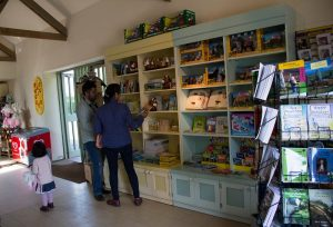 Gift shop treats - a view into the gift shop of the miniature pony centre